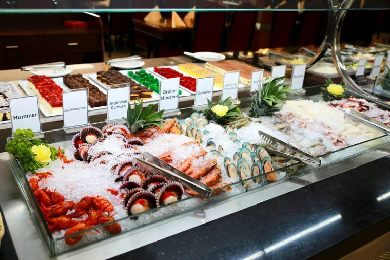 Meeresfrüchtebuffet